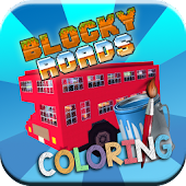 Blocky Coloring Roads