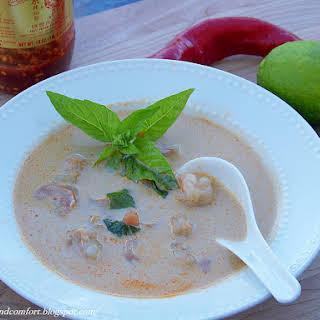 Thai Shrimp in Coconut Milk Soup.