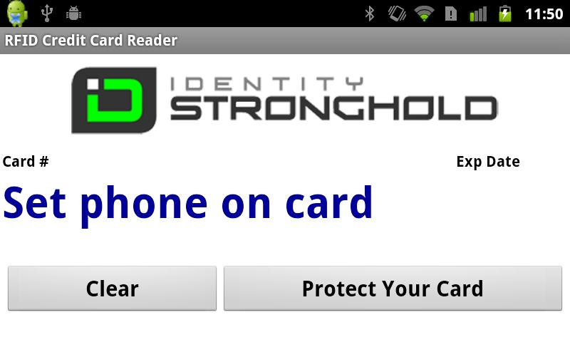 Electronic Pickpocket RFID - screenshot