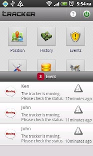 Cloud Tracker – GPS Tracker- screenshot thumbnail