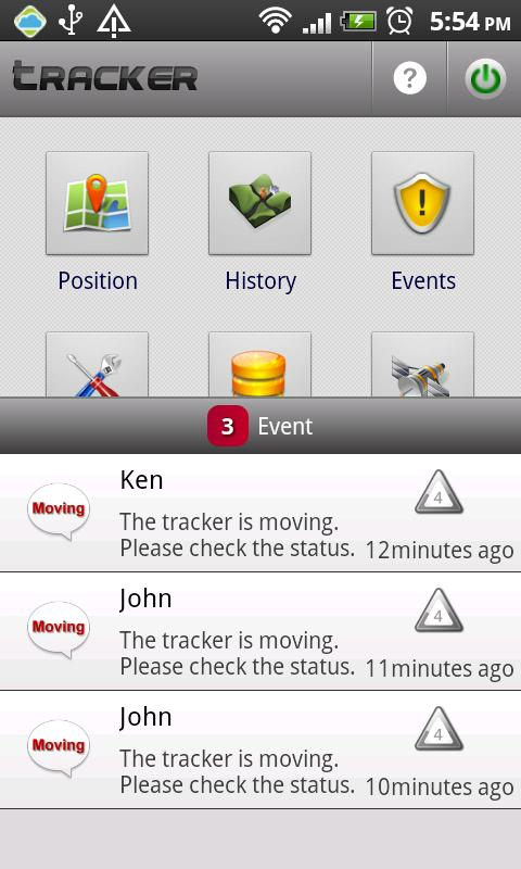 Cloud Tracker – GPS Tracker - screenshot