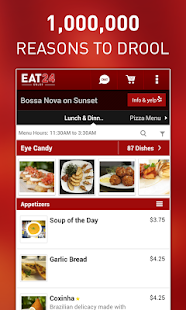 Eat24 Food Delivery & Takeout - screenshot thumbnail