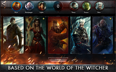 The Witcher Battle Arena v1.1.1 (Heroes Unlocked)