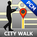 Playa del Carmen Map and Walks icon