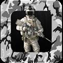 Militare fotomontaggio icon