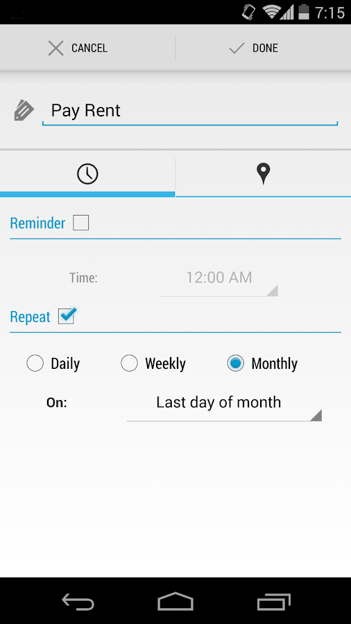 Reminders - Task Reminders - screenshot