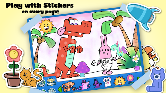 Wubbzy's Animal Coloring Book- screenshot thumbnail