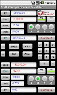 TC Financial Calculators - screenshot thumbnail