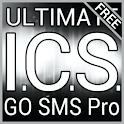 Platinum ICS GO SMS Theme logo