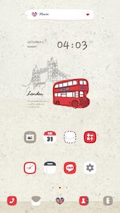LondonBus dodol luancher theme