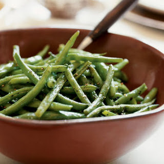Oven-Roasted Green Beans.