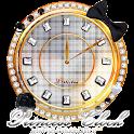 キラキラ姫系☆アナログ時計ウィジェット1 icon