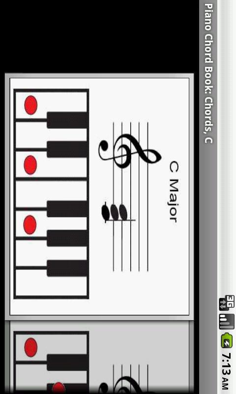 Piano Chord Book- screenshot