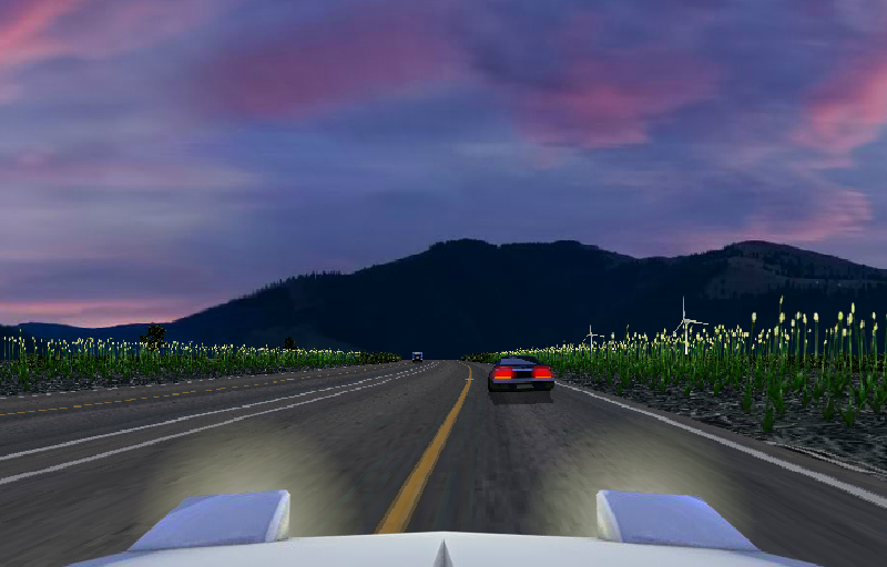 Dusk Drive- screenshot