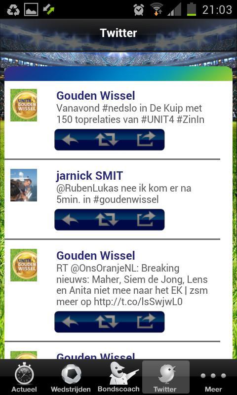 UNIT4 EK App - screenshot