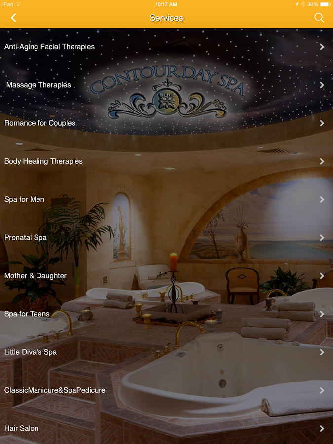 Contour Day Spa- screenshot