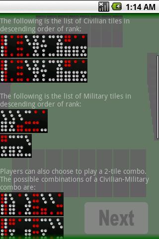 Chinese Domino- screenshot