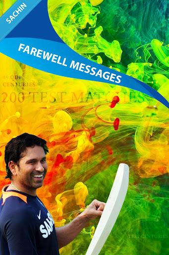 Sachin Farewell Messages