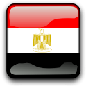 Egypt Flag Clock Widget