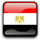 Egypt Flag Clock Widget icon