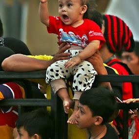 Enthusiasm by Wawan Adi - Babies & Children Babies