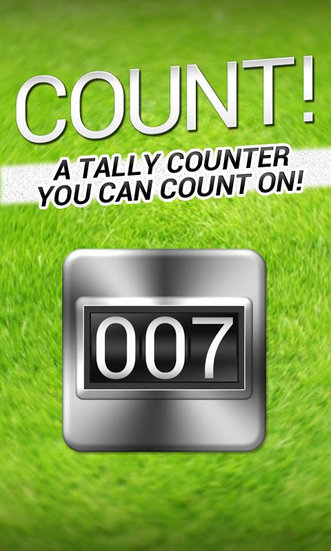 Count! The Tally Counter- screenshot