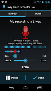 Easy Voice Recorder Pro v1.7.7