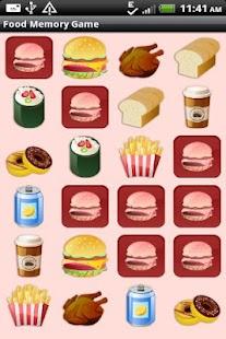 Food Memory Game for Kids - screenshot thumbnail