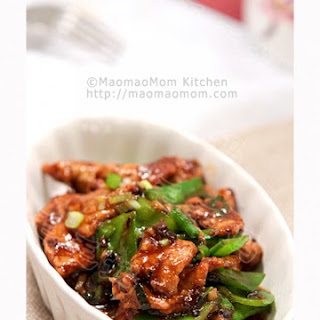 Pork and Snow Pea Stir Fry 豉蒜肉片