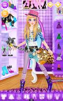 Screenshot of Pop Star Salon