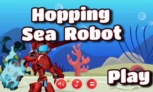 Hopping Sea Robot - Robot Game