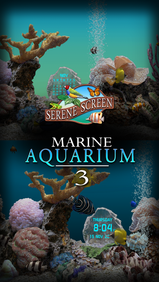 Marine Aquarium 3.2 - screenshot