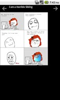 Screenshot of Rage Comics +