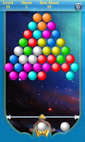 Screenshot of Bubble Shoot Free