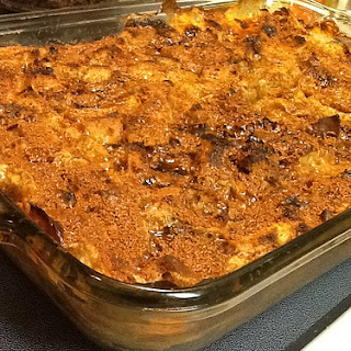 Eggnog Bread Pudding with Coconut Sugar Brûlée