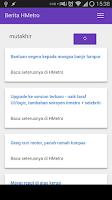 Screenshot of Berita dari Harian Metro  BDHM