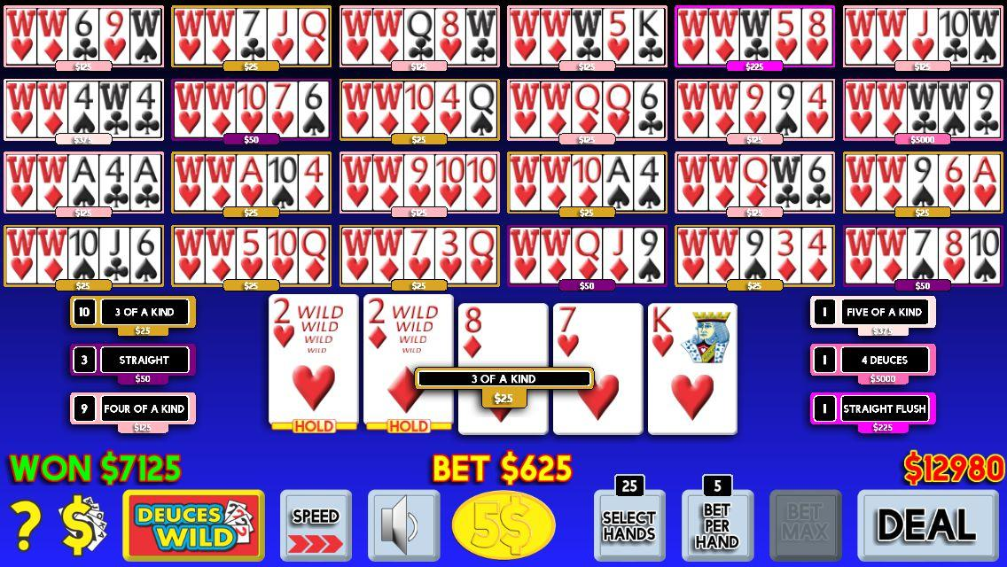 21st Century Video Poker- screenshot