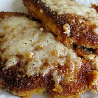 Asiago Breaded Pork Chops.