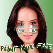 Paint your face Pakistan