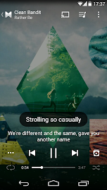 musiXmatch Music Player Lyrics Screenshot 1