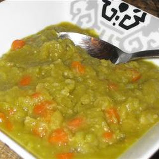 Split Pea Soup without Pork
