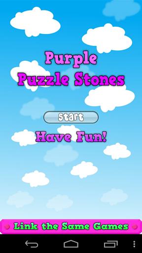 Purple Puzzle Stones Pro