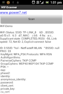 WiFi Scanner Analyser Unlocker