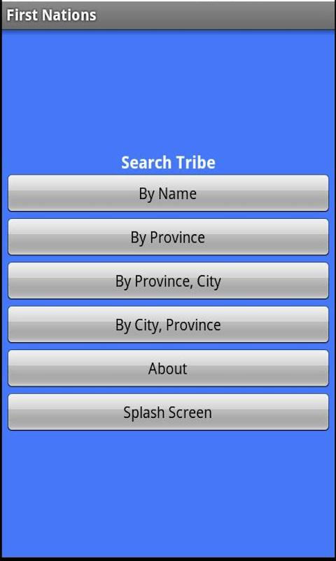 First Nations Canadian Tribes- screenshot