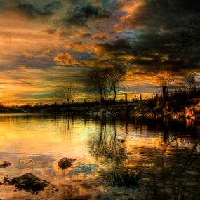 Lokva Varivode by Srbx  Cicapo - Landscapes Waterscapes ( djevrske, dalmacija, bukovica, varivode )