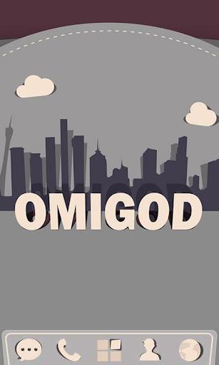 Omigod GO Launcher Theme