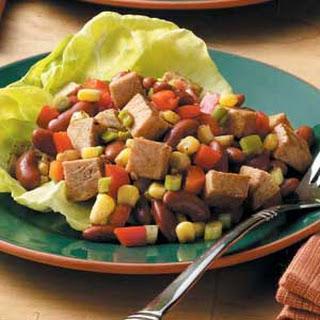 Southwest Pork and Bean Salad.