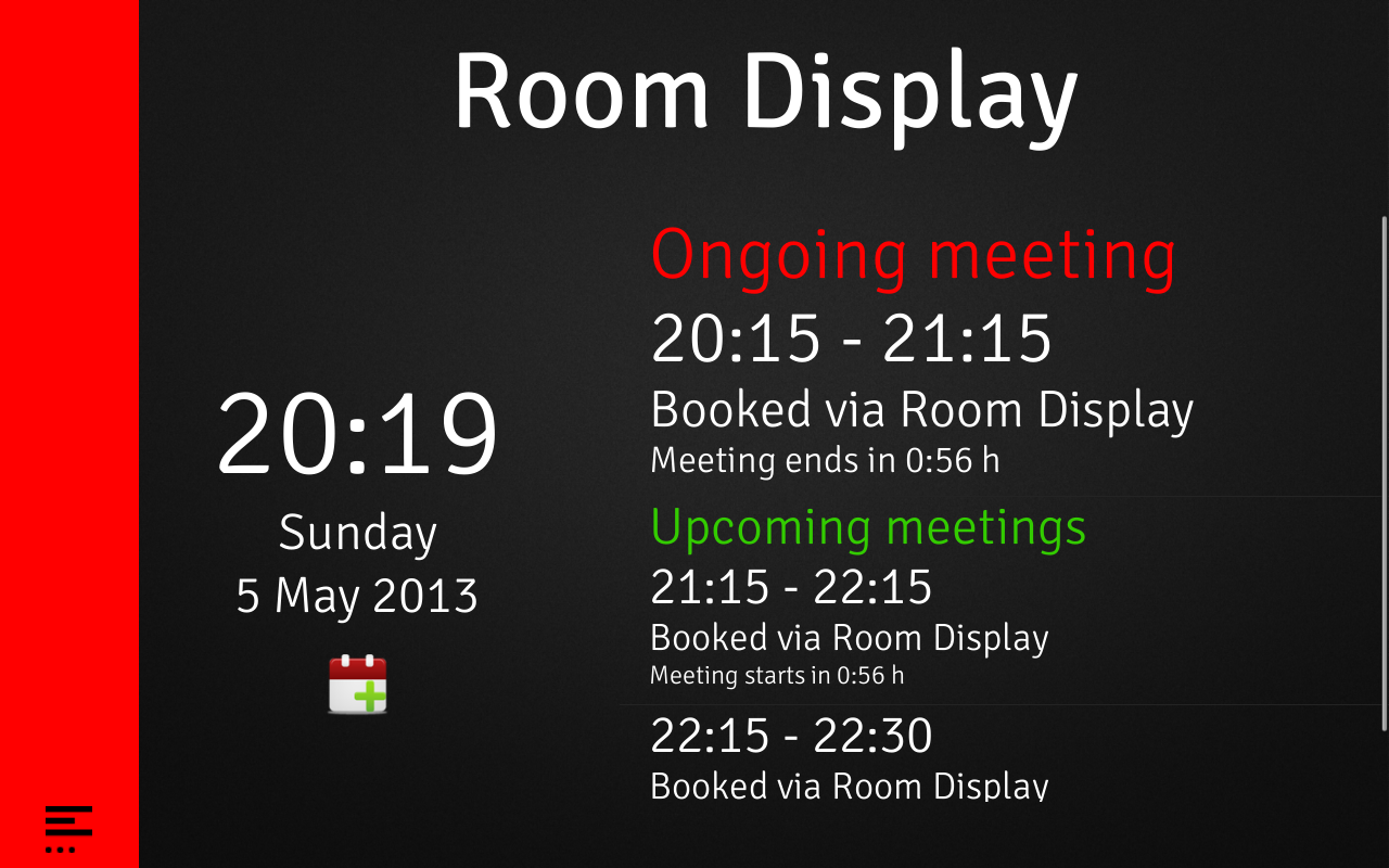 Room Display 3 Book A Meeting Android Apps On Google Play