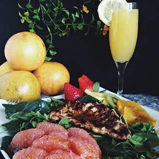 Grilled Chicken Citrus Salad with Balsamic Vinaigrette.