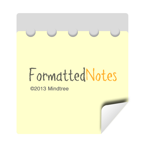 Formatted Notes(Notes,Notepad) LOGO-APP點子